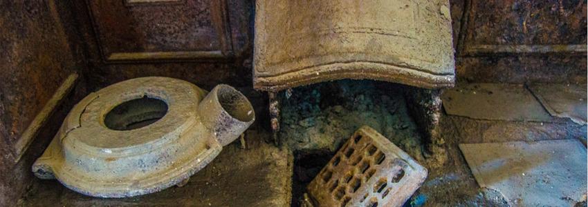 Ancient Artefacts at Cardigan castle