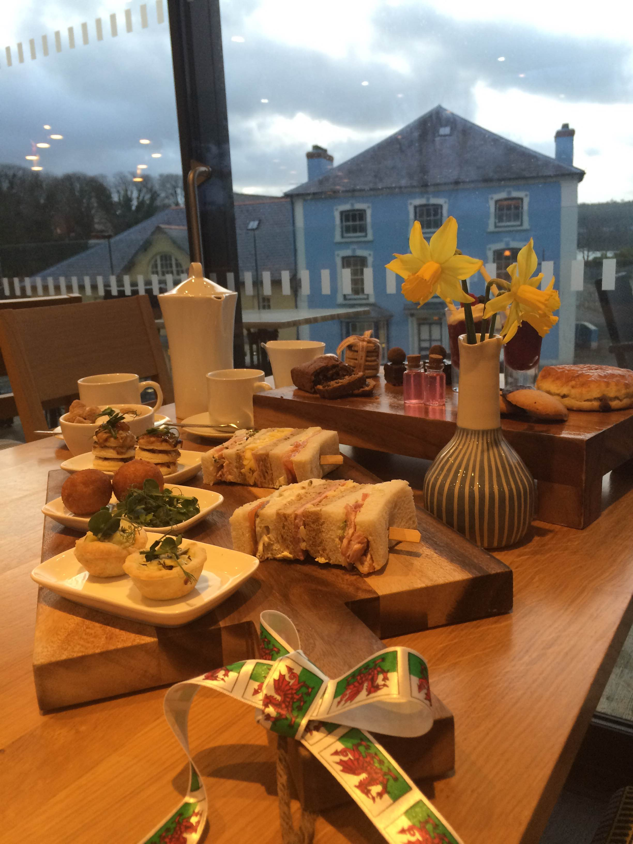 Welsh afternoon tea at 1176