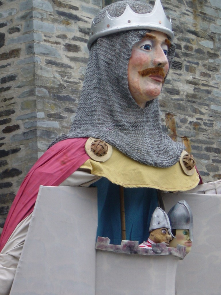 Lord Rhys Puppet Show at Cardigan Castle.