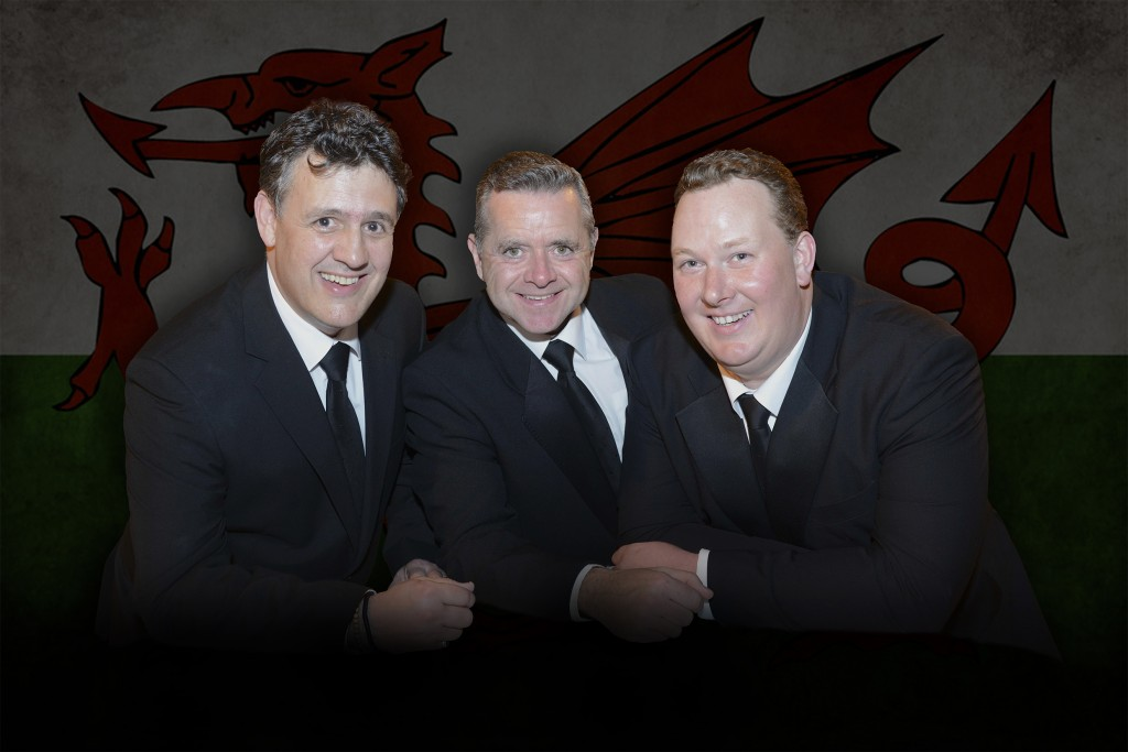 The Three Tenors at Cardigan Castle.