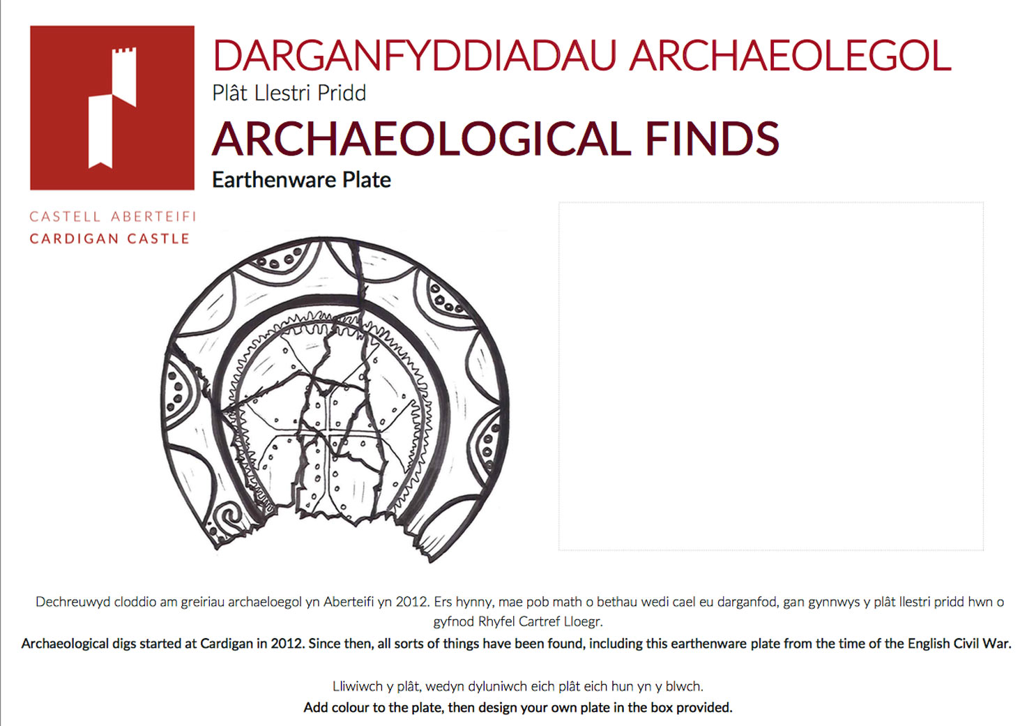 Archaeological Finds Document