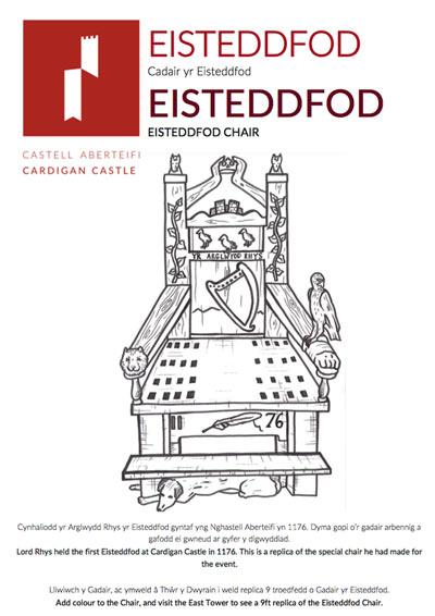 Eisteddfod Chair Education Book