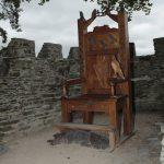 Eisteddfod Chair at Cardigan Castle.