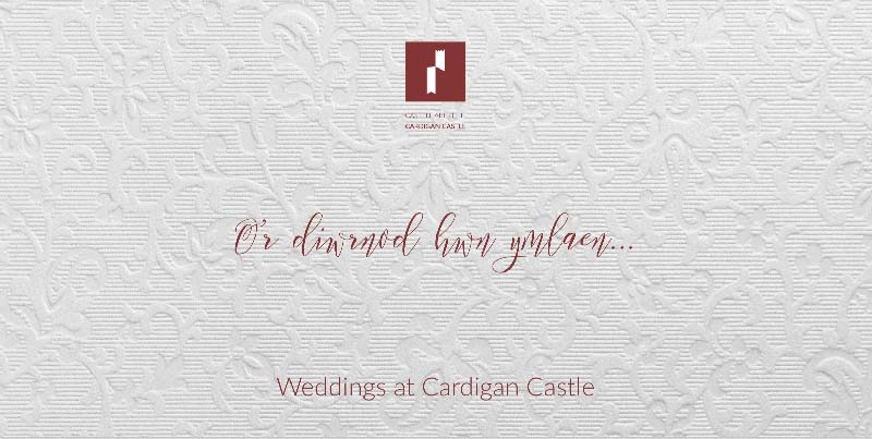 Cardigan Castle Wedding Brochure