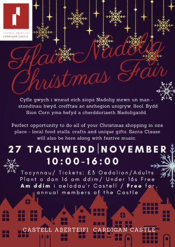Ffair Nadolig 2021 Christmas Fair